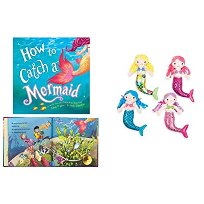 How to Catch a Mermaid Book and Plush Set (1 Book/ 1 Doll/Assorted Styles): Toys & Games
