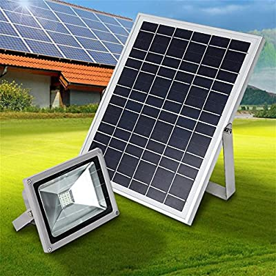MYY LED Solar Floodlight Outdoor Security Light IP65 20W Landscape Lighting Courtyard Solar Street Light Projector Lamp