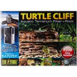 Exo Terra Turtle Cliff Aquatic Terrarium Filter/Rock, Small