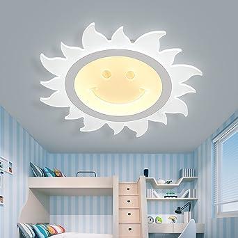 Deckenleuchten Kinderzimmer LED-Deckenleuchte, ultradünner Entwurf ...
