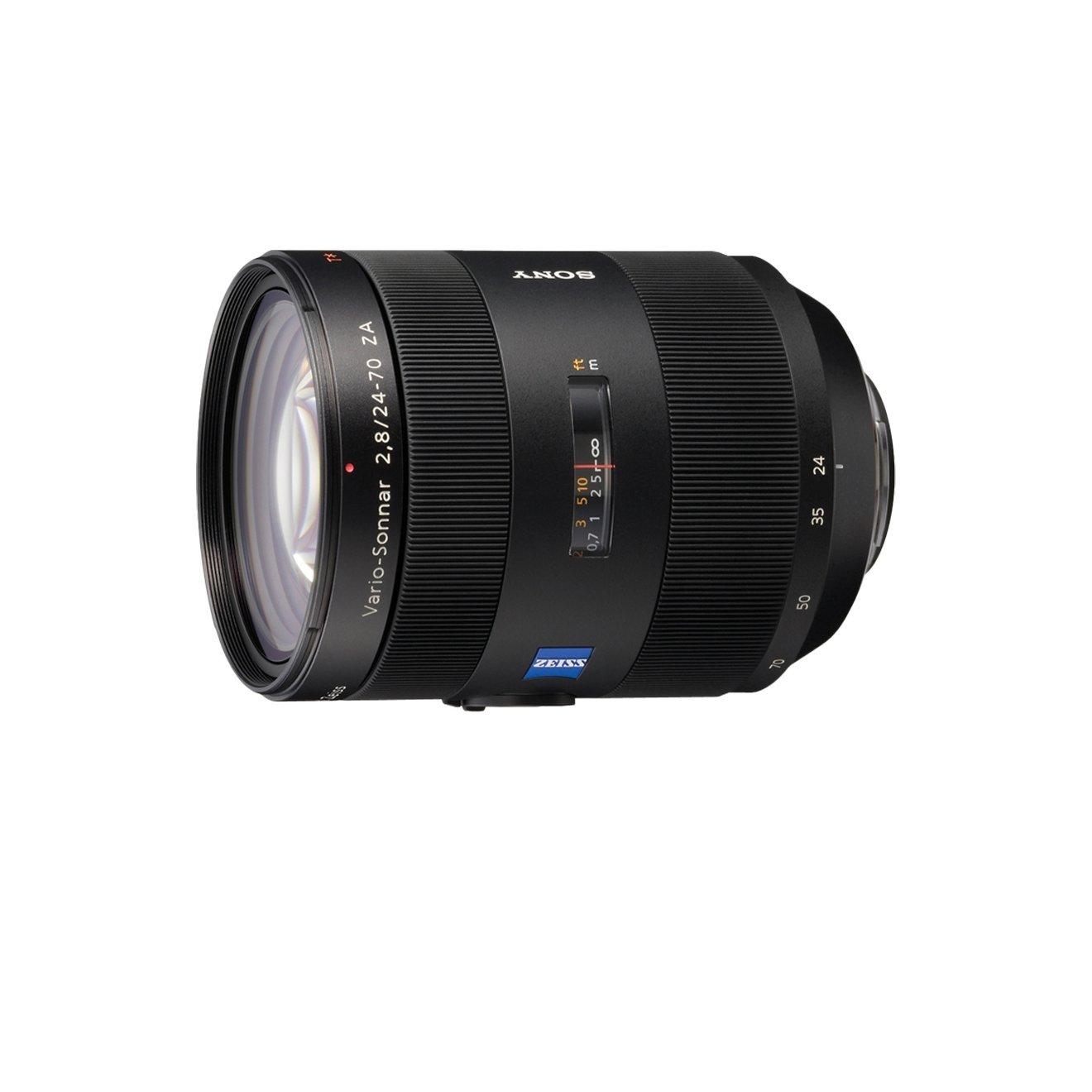 Sony SALZ Objetivo para Sony distancia focal mm apertura f  negro