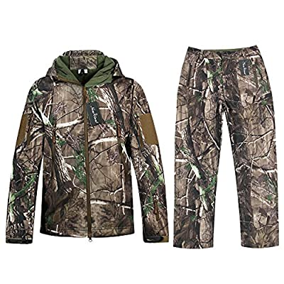 Hunting Jackets Waterproof Hunting Camouflage Hoodie for Unisex Military Camo and Tactical camouflage