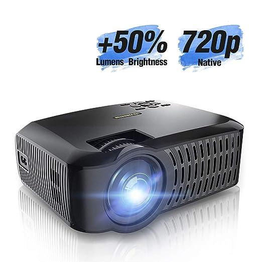 Ai LIFE Proyector WiFi Proyector de Video con Full HD Nativo de ...