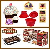 BIG TOP CUPCAKE AND THE PERFECT BROWNIE SET - THE PERFECT COMBINATION!