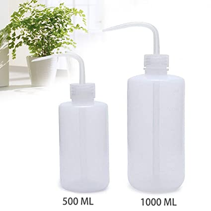 OAMCEG Wash Bottle, 2 Pack LDPE Squeeze Bottles, Safe Plastic Low Density  Polyethylene Bottles with Narrow Mouth, for Chemistry, Industry, Lab &