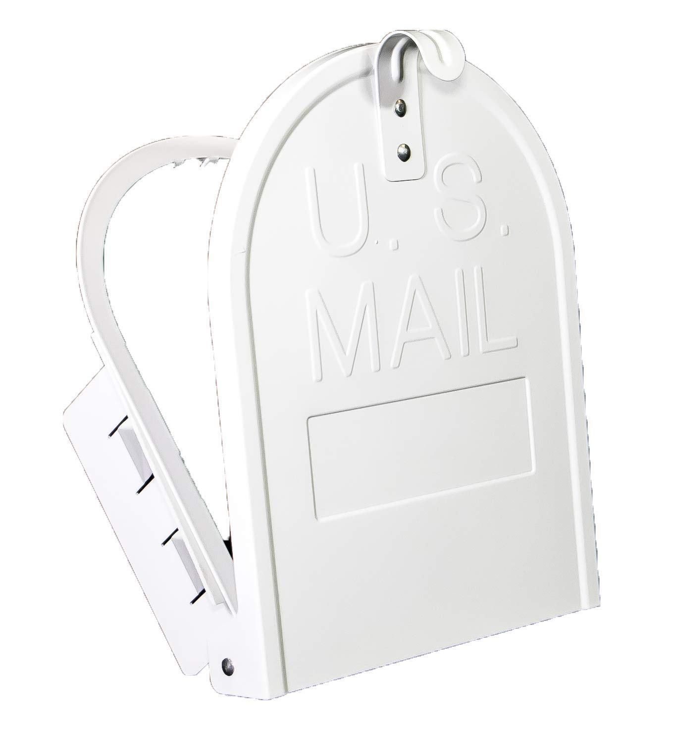 11 Inch (Width) by 14 Inch (Height) RetroFit ''Snap-In'' Mailbox Door Replacement - White by Bayshore Mailbox Company