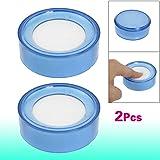 Sonline 2 x Plastique rond de rembourrage d'eponge/ Dispositif a humeeter le doigt