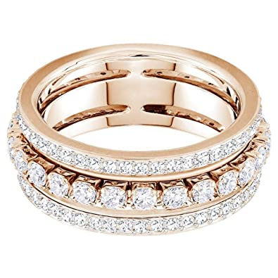 05fe29e10 Swarovski Further White Ring 5419854 (Maat: 55): Amazon.co.uk: Jewellery