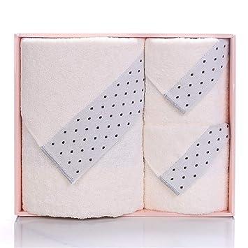 BB.er Toalla de algodón Toalla de baño de Tres Piezas para el hogar, A: Amazon.es: Hogar