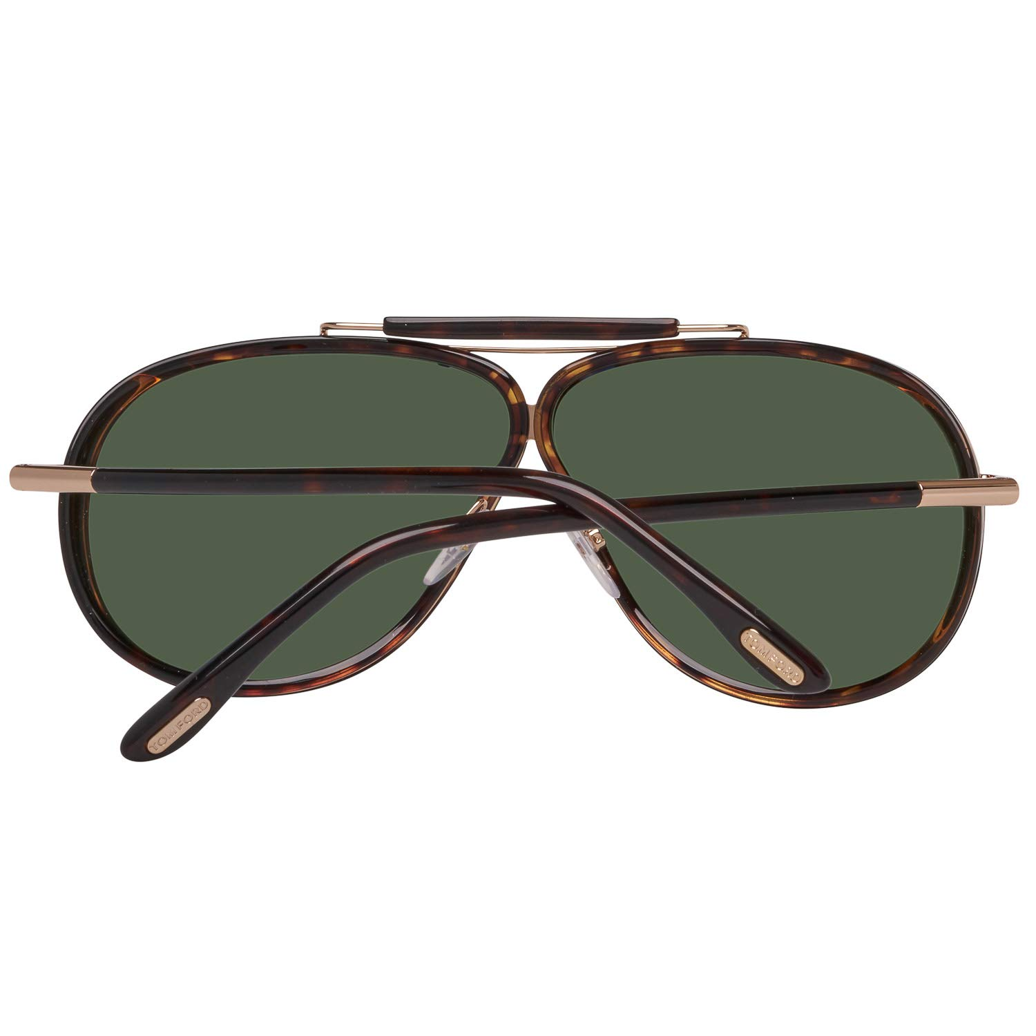 e061a8370be Tom Ford Sunglasses 0509 Cedric 52N Dark Havana Green at Amazon Men s  Clothing store