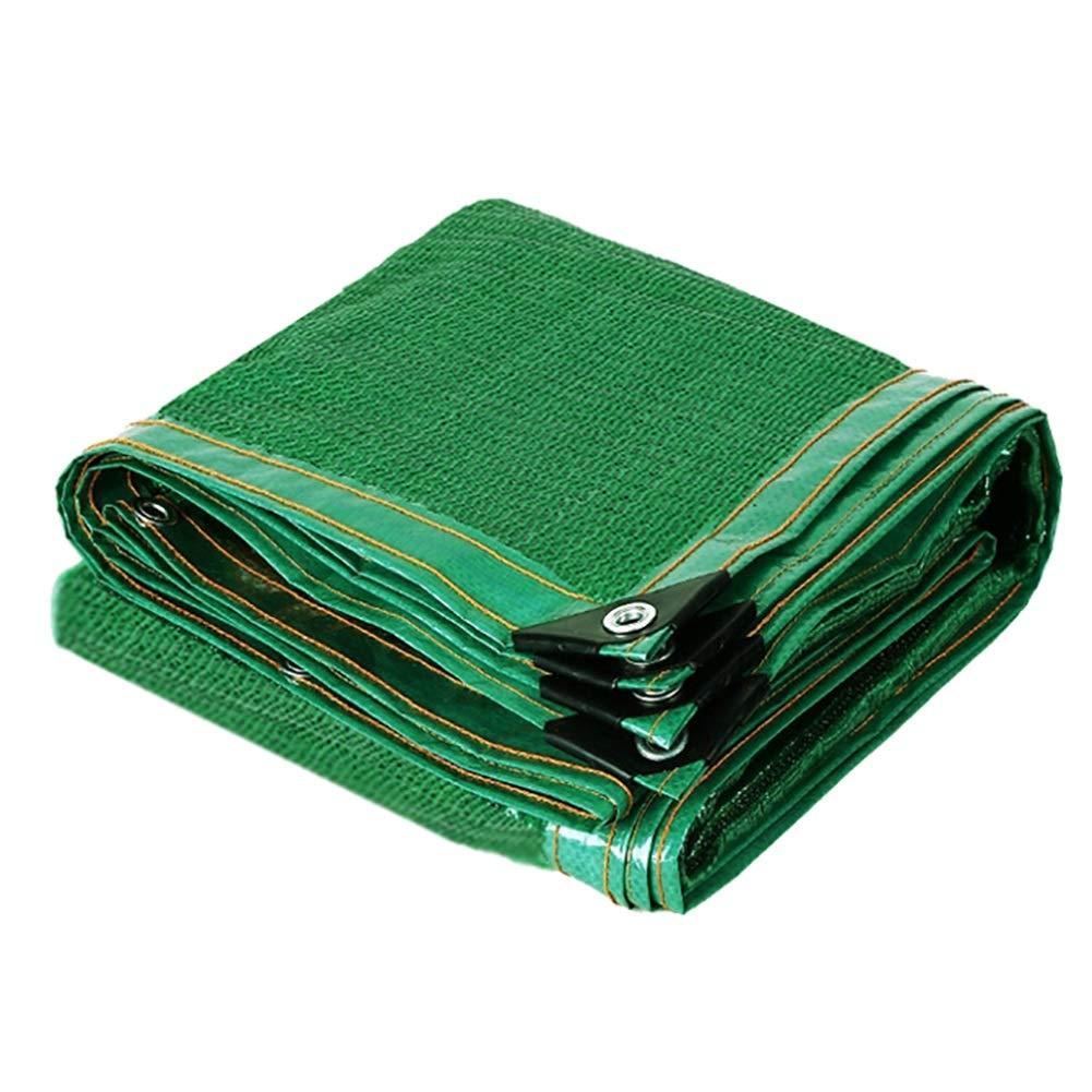 日除け シェード オーニング 緑の日焼け止め日よけ布メッシュ、暗号化されたメッシュ、花または植物またはパティオ芝生シェーディングネット用 (Size : 6×8m)  6×8m