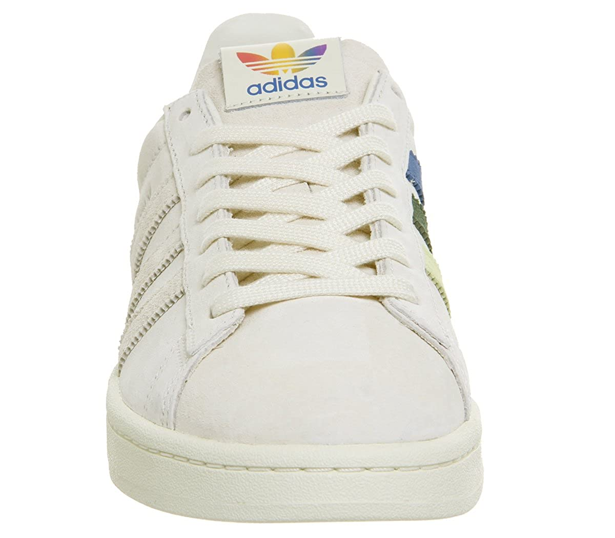 new arrival 5657b 63cd8 Amazon.com  adidas Originals Campus Pride Cream WhiteTrace PinkTrace  Scarlet Suede Adult Trainers Shoes  Fashion Sneakers