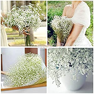 Great deal HOT SALE 10 Pcs Gypsophila Artificial Fake Beautiful Flower Home Wedding 76