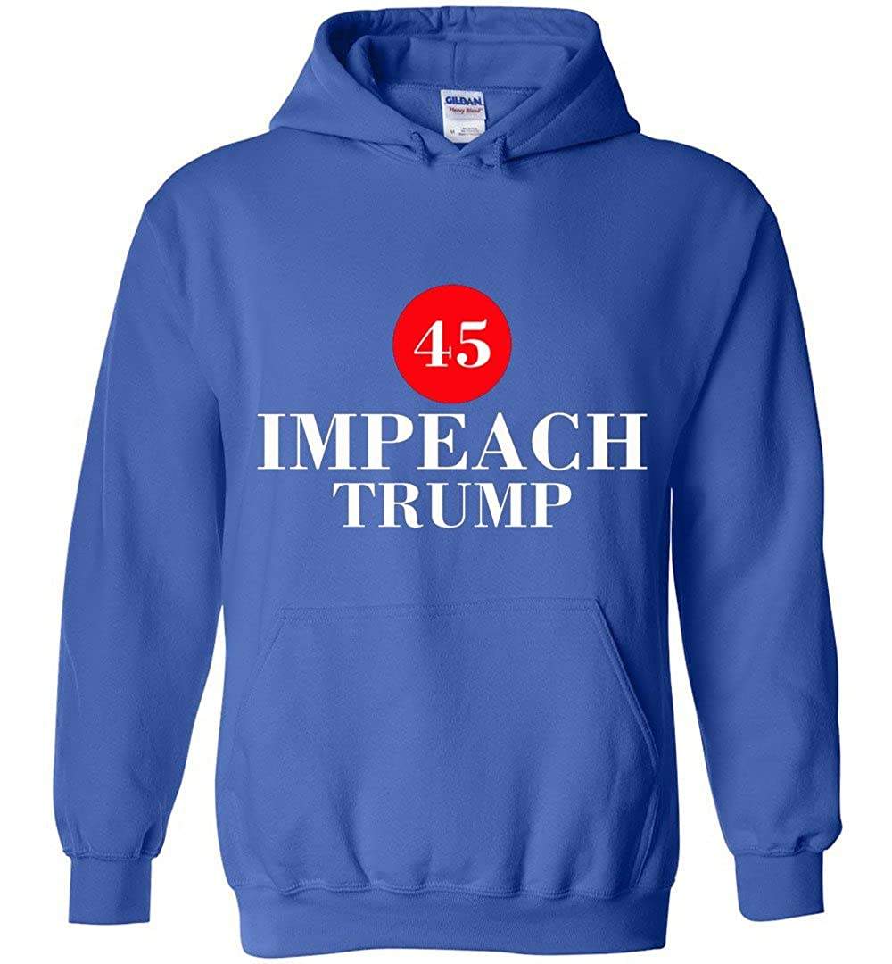 TSHIRTAMAZING Anti Trump Impeach Forty-Five Hoodies Adult and Youth Size
