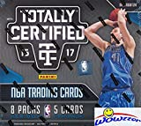 2016/17 Panini Totally Certified Basketball Factory Sealed HOBBY Box with THREE(3) AUTOGRAPH/MEMORABILIA Cards, 4 Parallels & 9 Inserts! Look for BEN SIMMONS ROOKIE Cards! WOWZZER!
