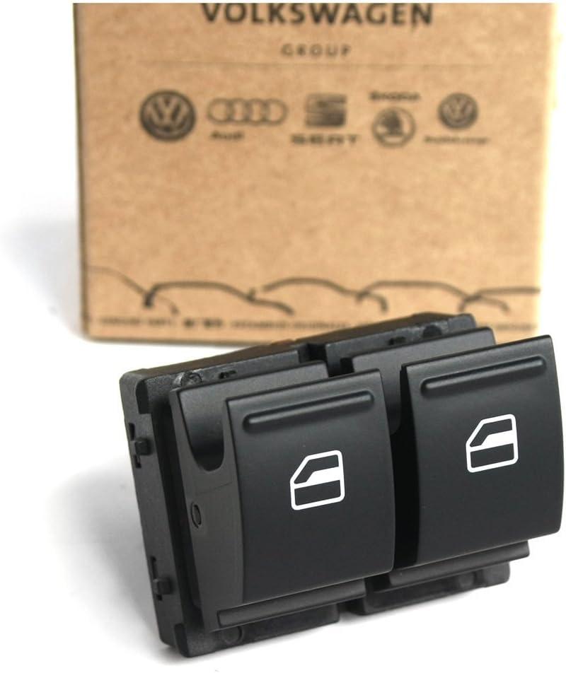 Skoda 1z0959858reh Schalter Elektrische Fensterheber 2 Fach Vorn Links Fahrertür Auto