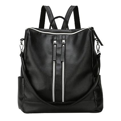 Meaeo La Nouvelle Tendance De L'Épaule De Tous Les Grande Capacité-Match Soft Fashion Handbag,Black
