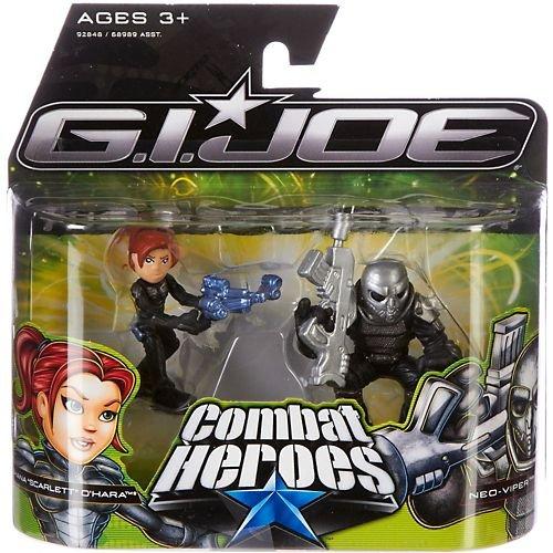 G.I. Joe The Rise of Cobra Combat Heroes 2-Pack Shana