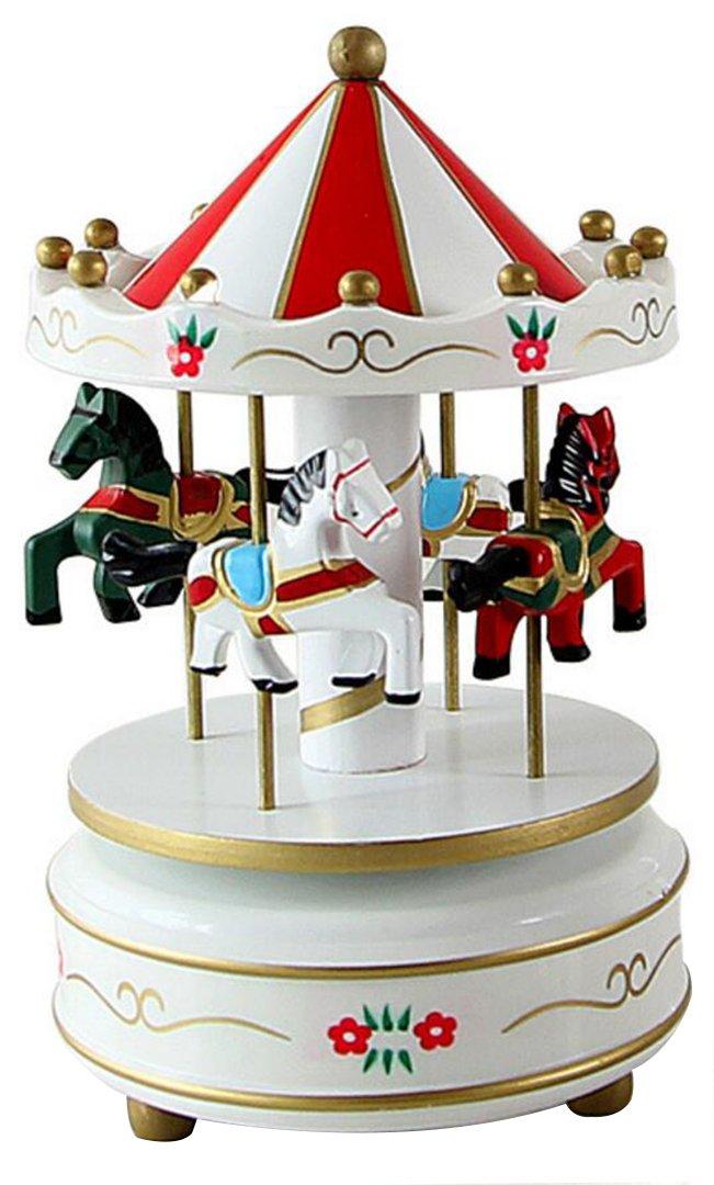 【限定価格セール!】 horbousメリーゴーランドカルーセル木製Clockwork音楽ボックスギフト装飾with音楽のCastle in B07282M8TL the in ブルー Sky 6色 ブルー HJJCP0047-52 B07282M8TL レッド2 レッド2, ナンカイドリンク:b9ce2f9a --- svecha37.ru
