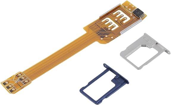 Adaptador Doble Tarjeta SIM, Teléfono móvil 2-IN-1 Extender, para ...