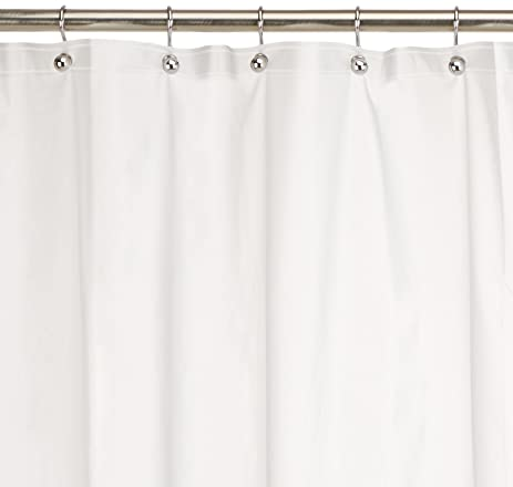 Amazon.com: RT Designers Collection Vinyl Shower Curtain Liner, 6 ...