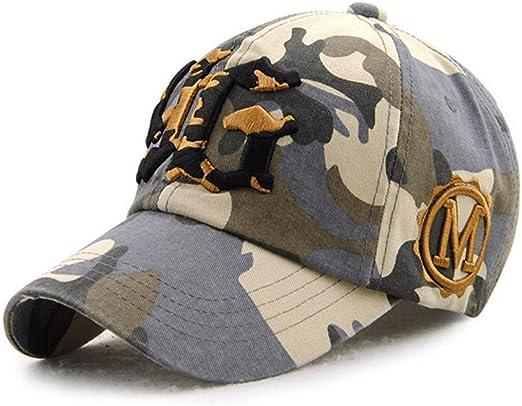 H-O Gorra de béisbol Ejército Gorra de béisbol Hombres Sombrero ...