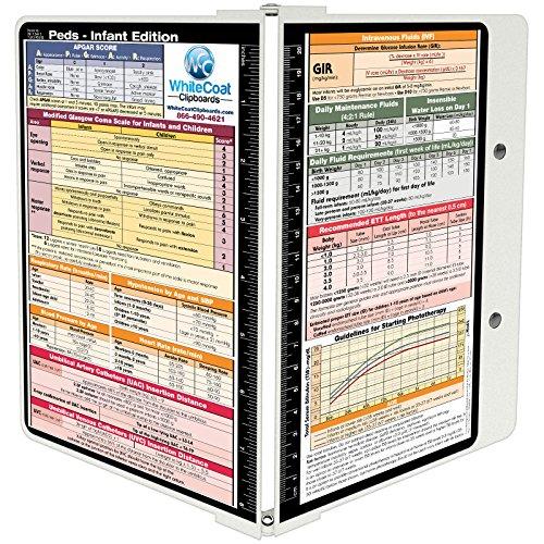 WhiteCoat Clipboard- White - Pediatrics Edition
