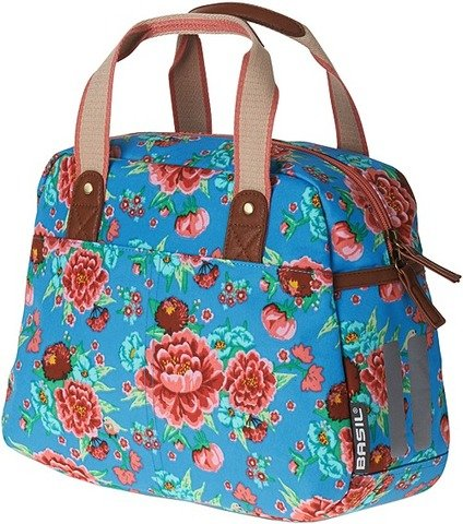 Basil Bloom Girls-Carry all bag red with hooks for bike racks