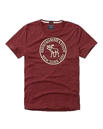 Abercrombie & Fitch para Hombre Applique Logo Graphic T-Shirt en ...