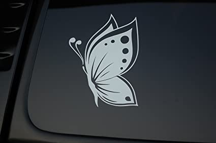 Pretty Butterfly Vinyl Sticker Decal V167 Cute Choose Color And Size Owl Car