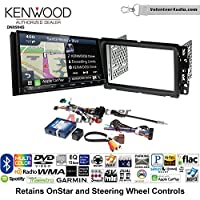 Volunteer Audio Kenwood Excelon DNX994S Double Din Radio Install Kit with GPS Navigation Apple CarPlay Android Auto Fits 2000-2005 Saturn S/L Series
