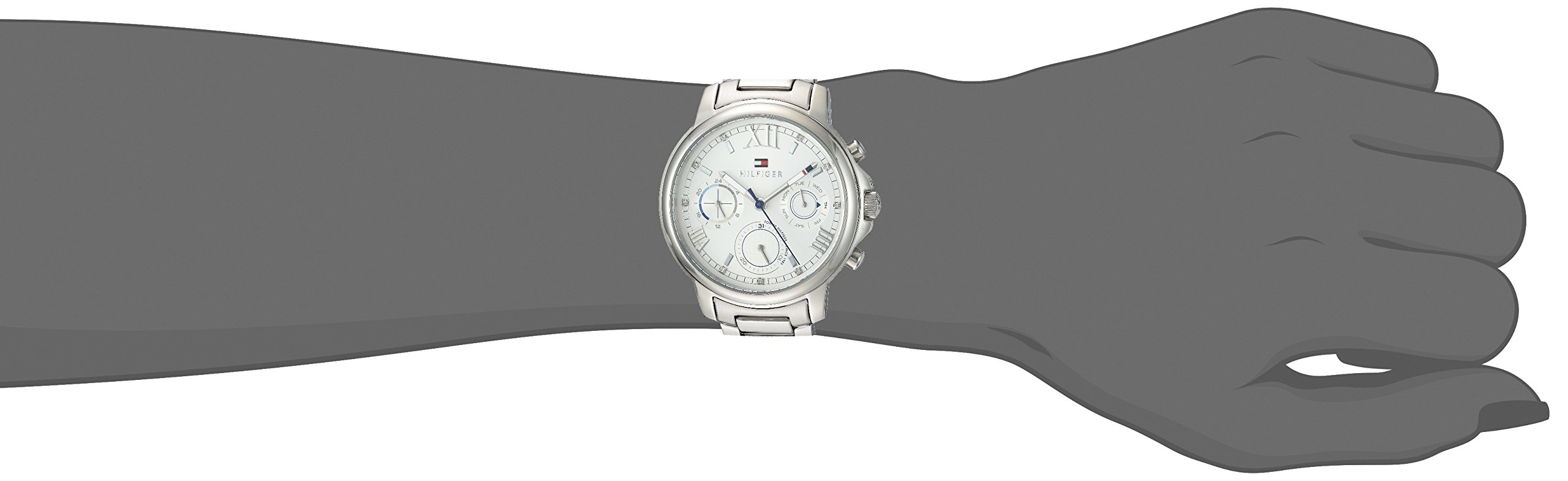 Tommy Hilfiger Women's 'CLAUDIA' Quartz Stainless Steel Casual Watch, Color:Silver-Toned (Model: 1781741) by Tommy Hilfiger (Image #2)