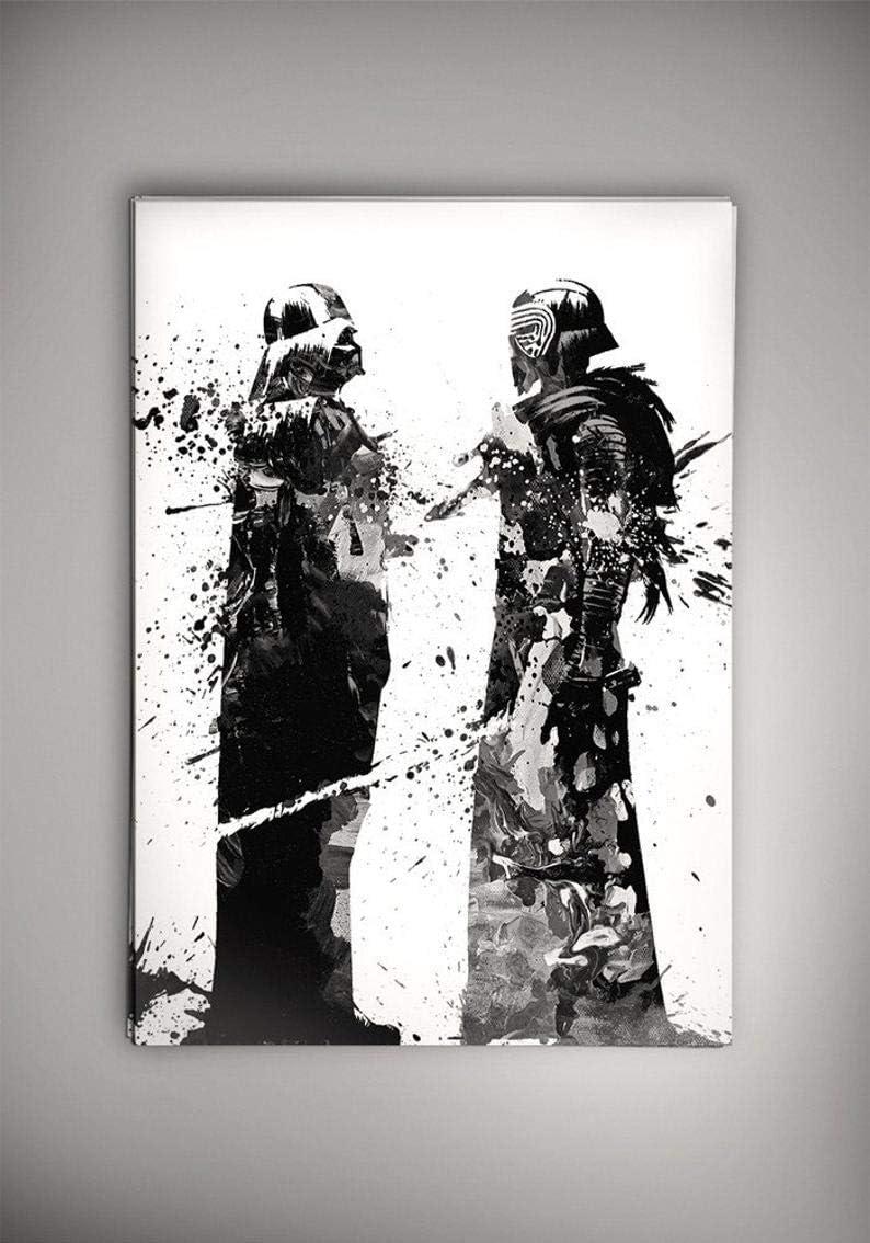 Darth Vader and Kylo Ren Star Wars Wall Decor Star Wars Gifts Poster Wall Art Star Wars Poster Wall Print Star Wars Poster Gifts
