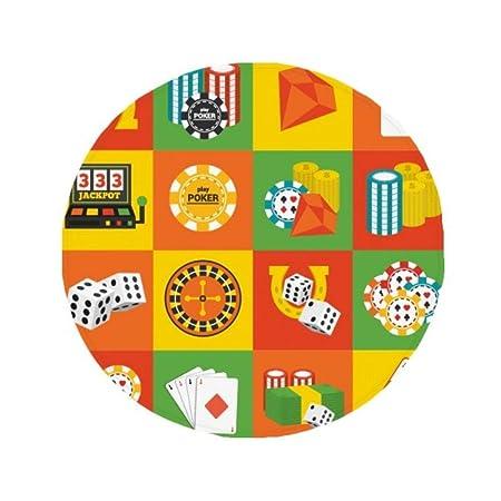 DIYthinker Plaza del Casino Objetos ilustración Antideslizante ...
