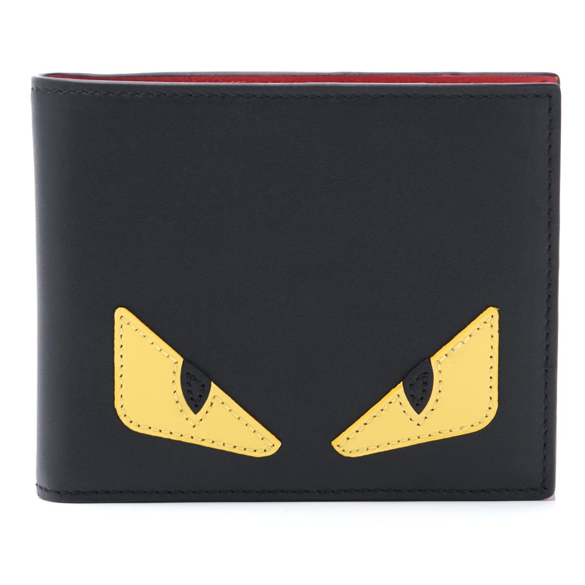 (フェンディ) FENDI 二つ折り 財布 小銭入れ付き BUGS EYES バグズアイ [並行輸入品] B07576TSZJ