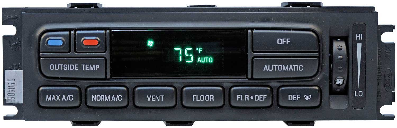 APDTY 600141 AC Heat Climate Control Head Module Switch w/Auto-Temp Control  For 2003-2011 Ford Crown Victoria Mercury Grand Marquis 2003-2004 Marauder