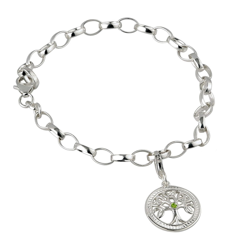 Amazon Sterling Silver Celtic Irish Tree of Life Charm