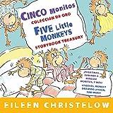 Cinco monitos Coleccion de oro/Five Little Monkeys Storybook Treasury (A Five Little Monkeys Story) (Spanish and English Edition)