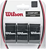 Wilson Ultra Wrap Tennis Overgrip (3-Pack), Black