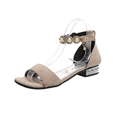 femmes Solide Plates Saisonnière chaussures escarpins sandales Mode XOuiTPkZ