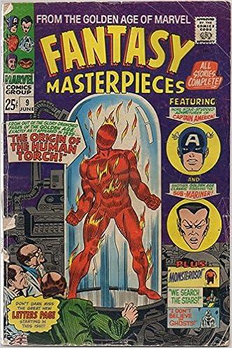 Amazon.com: Fantasy Masterpieces #9, June 1967. Golden Age ...