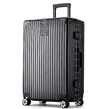 Meters_x Nuevo maletín de Maletas Maleta con Ruedas de Aluminio Maleta Universal ABS + Material de la Maleta para PC Mejora antiarañazos (20/24/26/29 ...