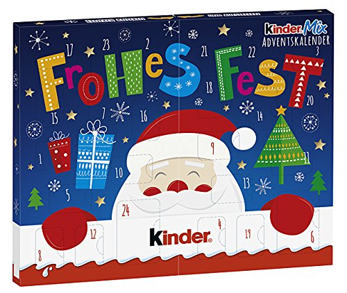 Ferrero Kinder Mix Table Advent Calendar 127g