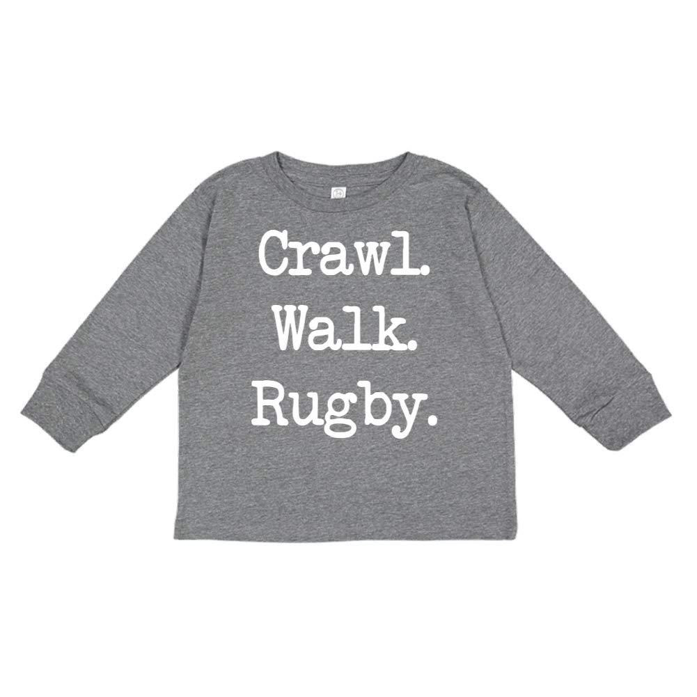 Walk Rugby - Toddler//Kids Long Sleeve T-Shirt Mashed Clothing Crawl