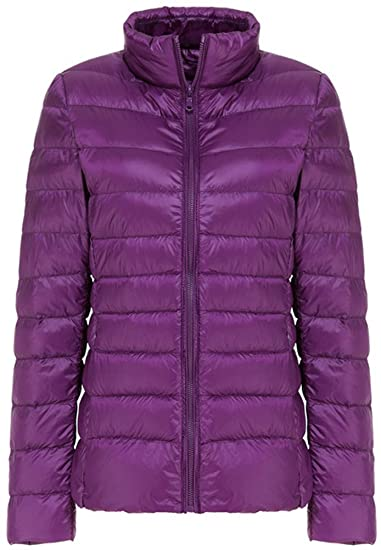 536327f61 Mochoose Women's Winter Down Puffer Jacket Coat Packable Ultra Light Weight