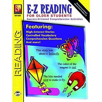 Amazon.com: Remedia Publications REM3050 E-Z Reading for Older ...
