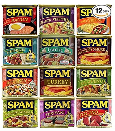 large-spam-lovers-sampler-12oz-cans-pack-of-12-different-flavors