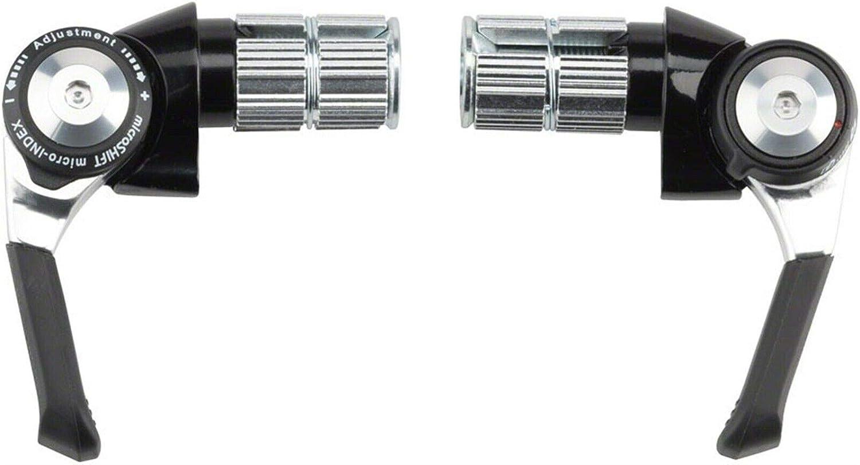 Microshift Twist Shift Triple 8 speed Shifter Set Shimano 8-Vitesse