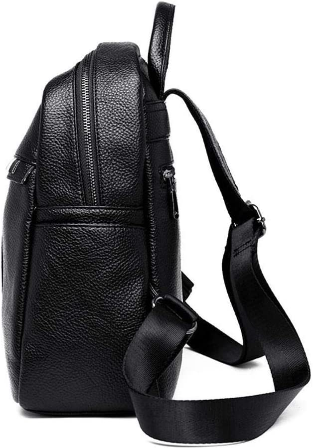 Ambiguity Ladies Backpacks Travel,Backpack Fashion Casual Womens Soft Leather Bag 25x12x30cm