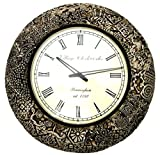 Wooden Morden Wall Clock 18 Inches